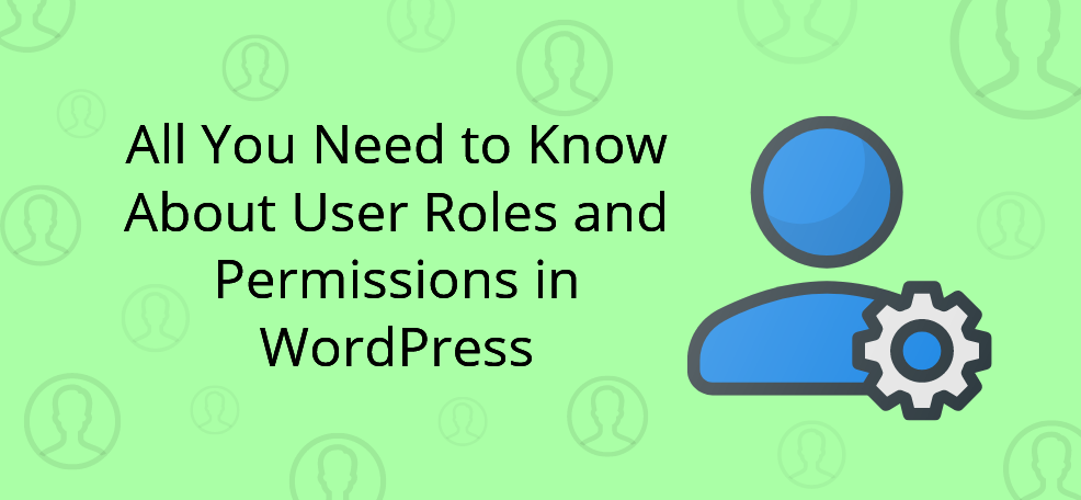 User Roles in WordPress