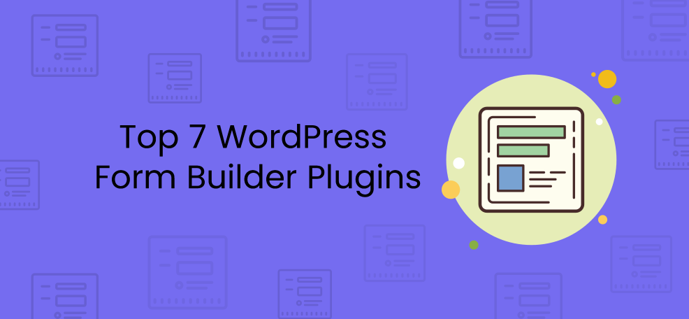 wordpress form builder plugin