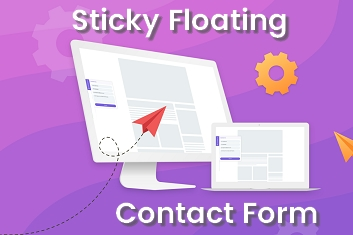 Sticky Floating Contact Form Thumbnail